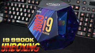UNBOXING  Intel Coffee Lake, Core i9 9900K 3.60GHz box