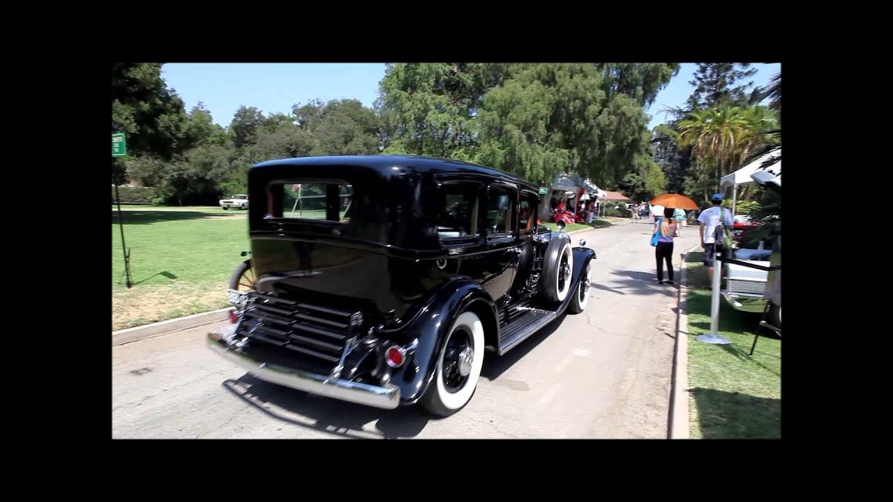 Al Capone's V16 Cadillac. - YouTube