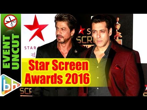 Star Screen Awards 2016 | Shah Rukh Khan | Salman Khan | Alia Bhatt Event Uncut