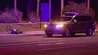 видео Беспилотник Uber насмерть задавил пешехода
