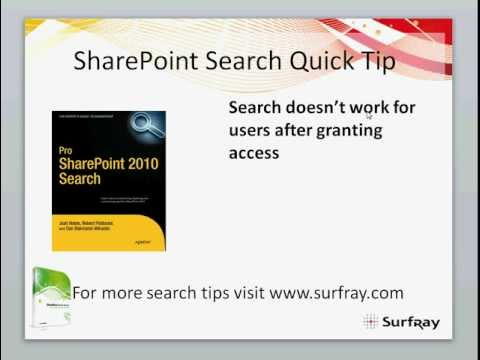 Search and Alternative Access Mappings - SharePoint Search Quick Tip 1