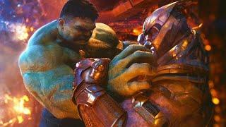 Халк против Таноса | Мстители: Война бесконечности