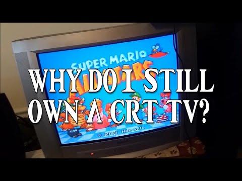Why do I still own a CRT TV?