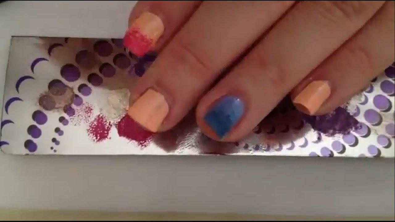 Farbverlauf mit Nagellack machen / Ombre Nails Anleitung - YouTube