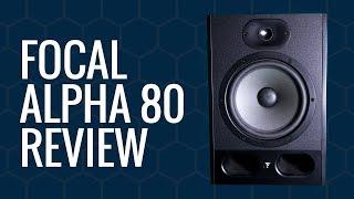 fOCAL Alpha 80 Studio Monitors - The Gear Gods Review