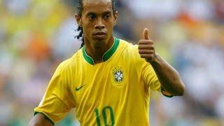 Ronaldinho Compilation - Moments - Skills - Tricks - Goals - HD - classical Football