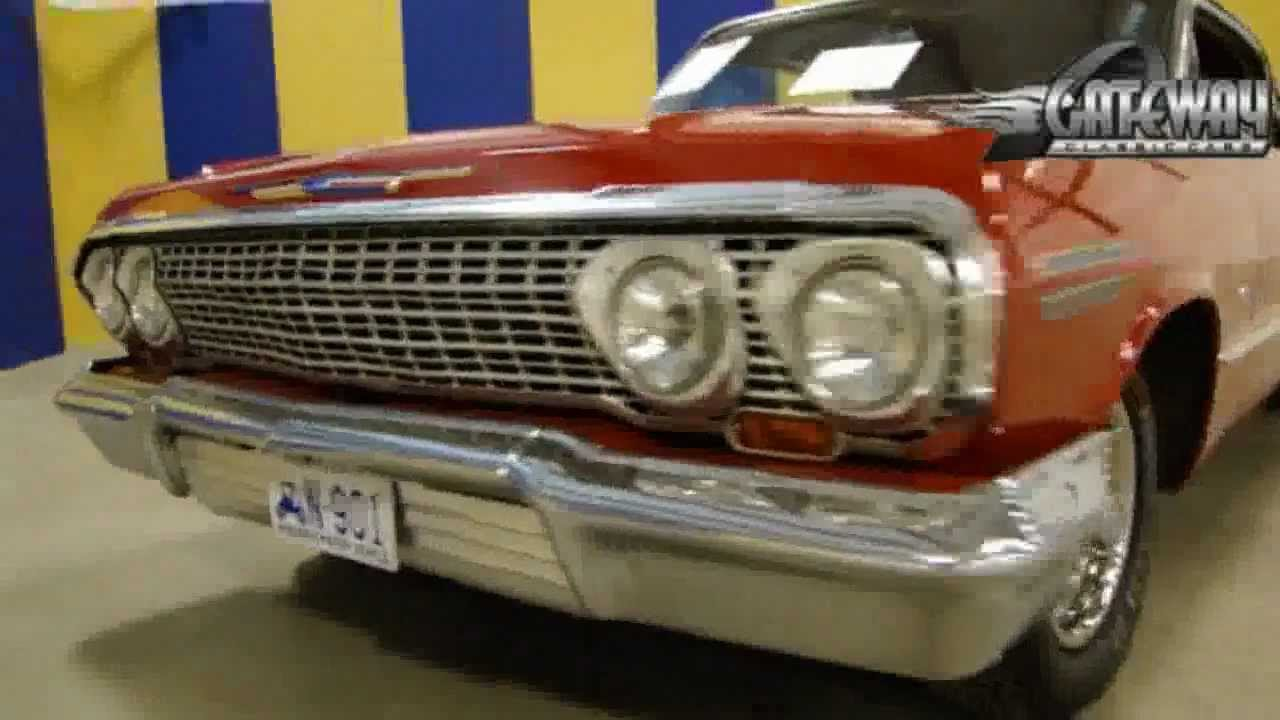 1963 Chevy Impala SS for sale at Gateway Classic Cars in our ...