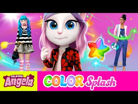 Something to Tell You - Talking Angela Color Splash (NEW Game Teaser)