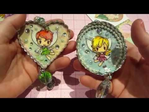 Large Bottle Cap Charm Share and Tutorial