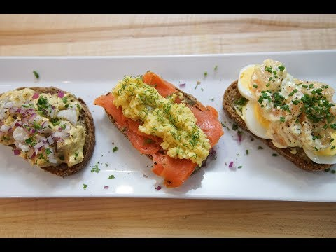 Danish Smørrebrød | SAM THE COOKING GUY