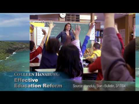Colleen Hanabusa: Reform in Washington. Hope for Hawai`i.