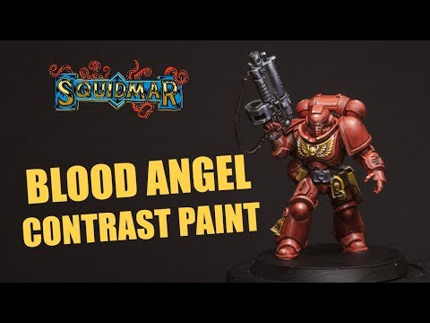 How To Paint Blood Angels With Contrast Paints