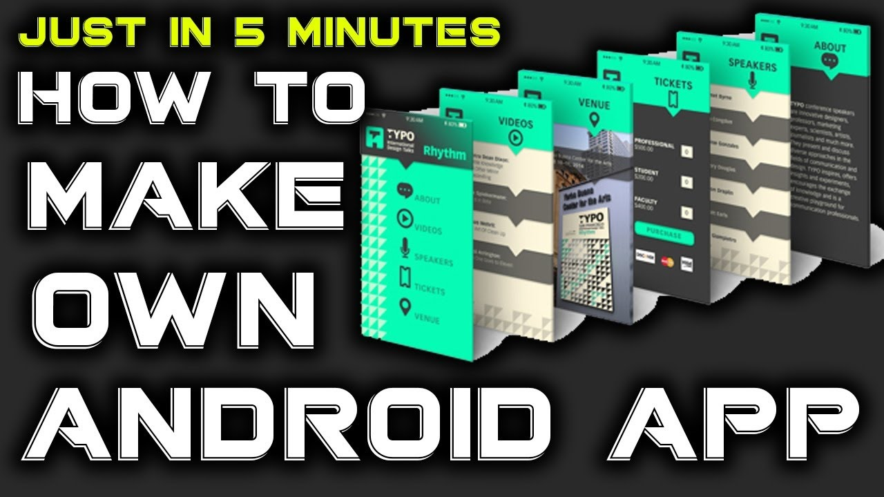 How To Make A Free Android App In Minutes Hindi Urdu