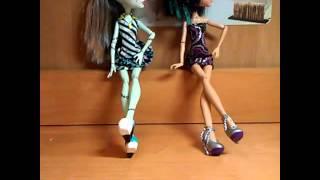 Танец стап пипл куклы