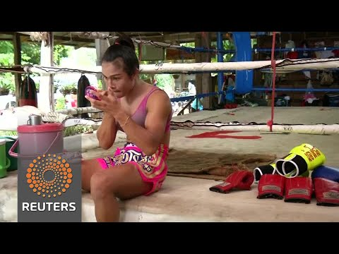 Thai transgender boxer winning the fight for acceptance
