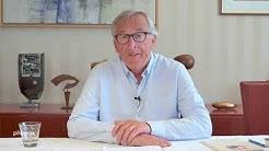 Länderrat: Jean-Claude Juncker beim ersten digitalen Parteitag der Grünen