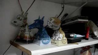 Illusão de otica - Cat, Dragon and Robot Dog.MPG