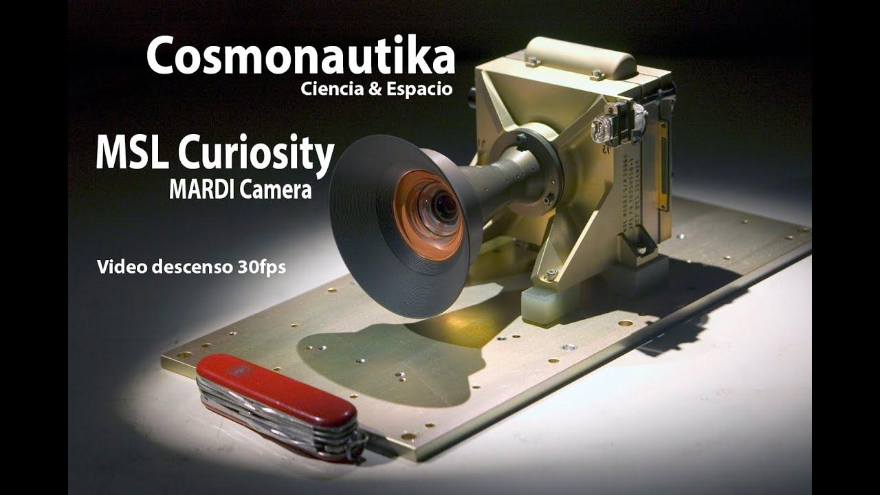 MSL Curiosity - Descenso en Marte