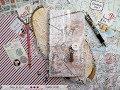 "Handmade Traveler's notebook - TUTORIAL ""Fabrika Decoru"" masterclasses"