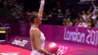 ОИ2012 Евгения Канаева(мяч)
