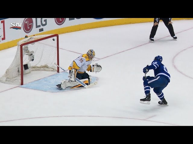 van Riemsdyk, Andersen clutch for Maple Leafs in shootout