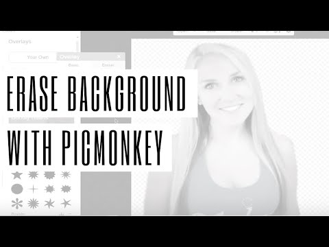 Erase Background in PicMonkey and Save as Transparent Image
