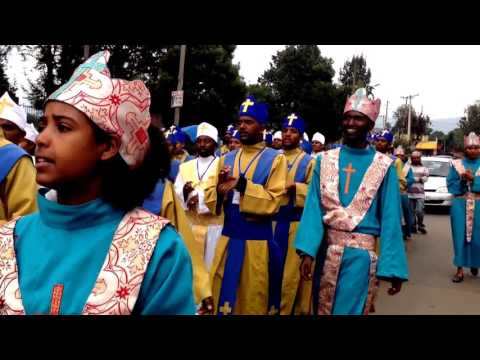 Addis Ababa Meskel 2009 EC Ethiopian Orthodox Tewahedo songs in sign language