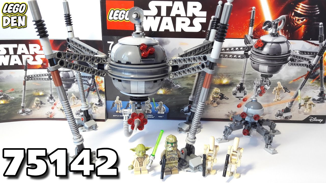 Обзор LEGO Star Wars 75142 - Homing Spider Droid ...