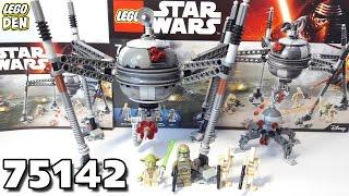 Обзор LEGO Star Wars 75142 - Homing Spider Droid (Самонаводящийся дроид-паук)