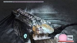 Shadow of the Colossus: Walkthrough - Part 6 [Colossus 7] - Hydrus (SotC Gameplay/Commentary) [PS3]