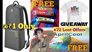 Realme Bag @ Rs 1 | Free Products | T-Shirt Giveaway | Droom Sale | #72 Loot Offers |