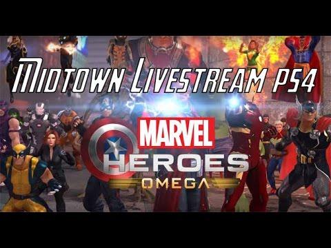 Midtown Manhattan Livestream 15/05/17 - Marvel Heroes Omega (PS4)