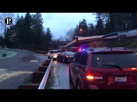 Accidente de tren Amtrak en Pierce County EEUU