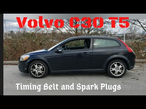 2011 Volvo C30 // Timing Belt And Spark Plugs