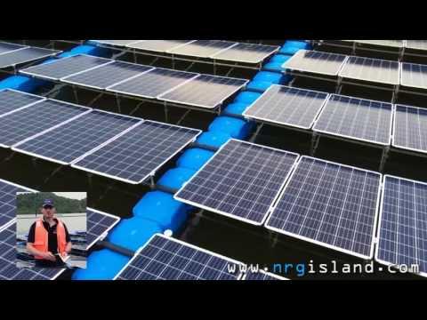 Floating Solar Plant - Singapore