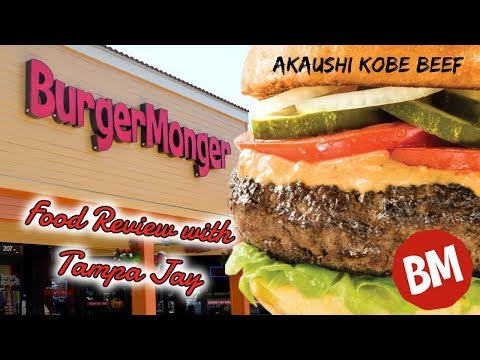 Burger Monger food review with Tampa Jay