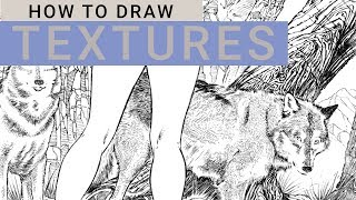 HOW TO DRAW TEXTURES/EON GIVEAWAY 1
