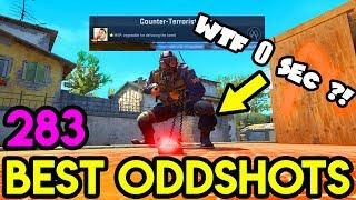 0.00 SEC DEFUSE ! *HOW?!* - CS:GO BEST ODDSHOTS #283