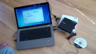 Samsung SE-208 Review - Portable DVD Writer - Defective X 2
