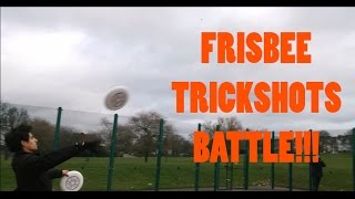Epic Ultimate Frisbee Trick Shots BATTLE!!! (Discraft Ultrastar Frisbee) |Brodie Smith