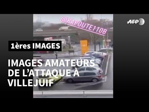 Attaque De Villejuif: Les Policiers Interviennent Sur Le Parking Du Carrefour   AFP Images