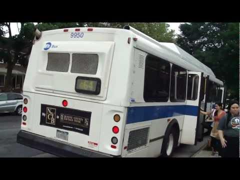 MTA Bus: 1998 OBI Orion V CNG Q64 Bus #9950 at Main St-Jewel Ave