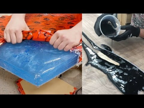 21 SATISFYING Reasons Why Epoxy Resin Wood Projects and Wood River Tables are The Greatest Woodwork.