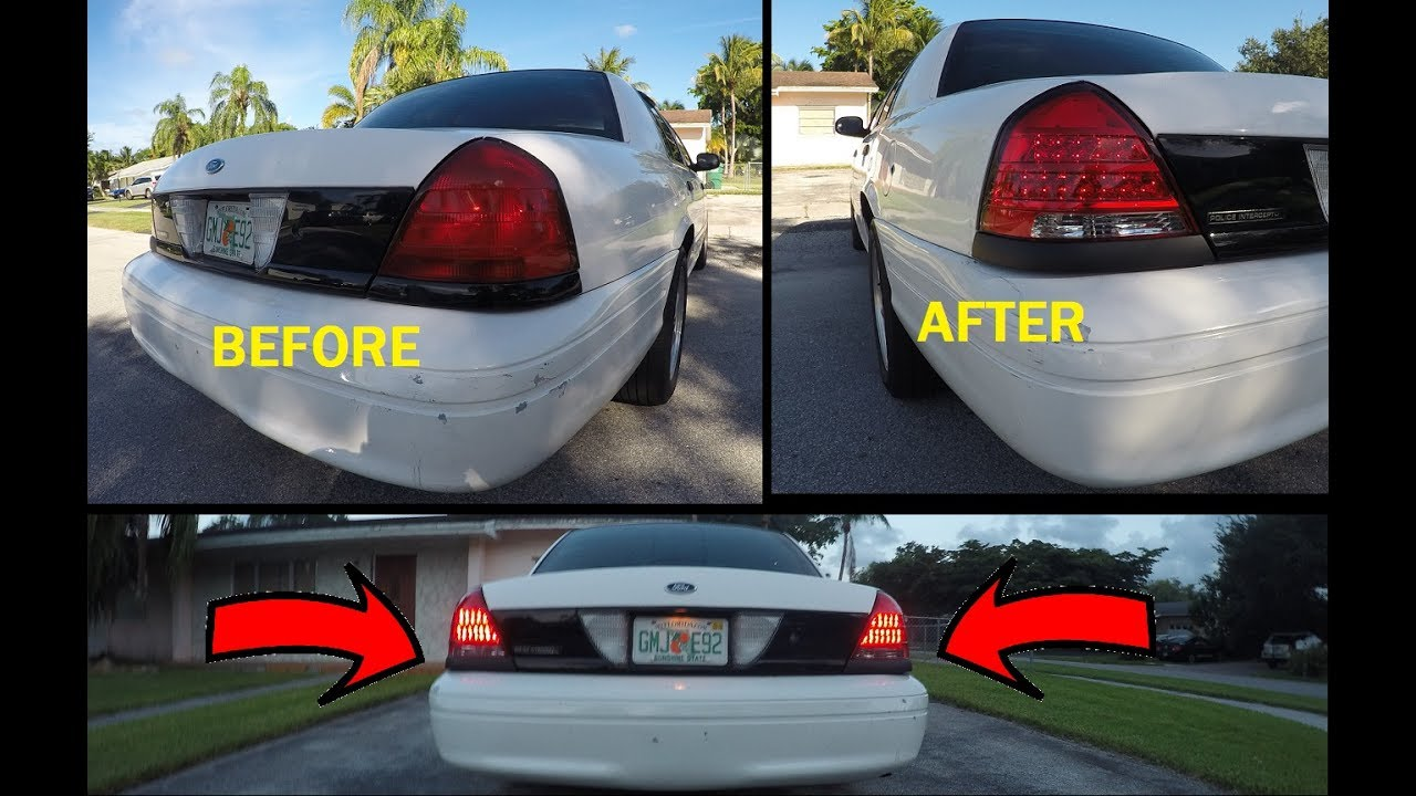 Led Tail Lights Installed Project White Lightning
