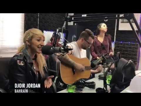 "Djoir Jordan ""Good Enough"" Acoustic Radio Promo - Bahrain"
