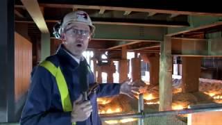 Blast Furnace 5 Life Extension Project - Tim Rutter steps inside the furnace!