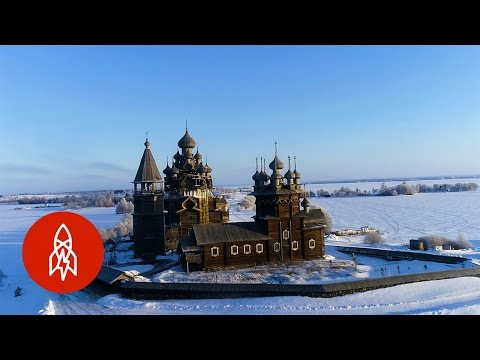 The Russian Churches Built without Nails
