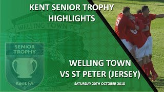 HIGHLIGHTS - Welling Town 1-2 St Peter (Jersey)