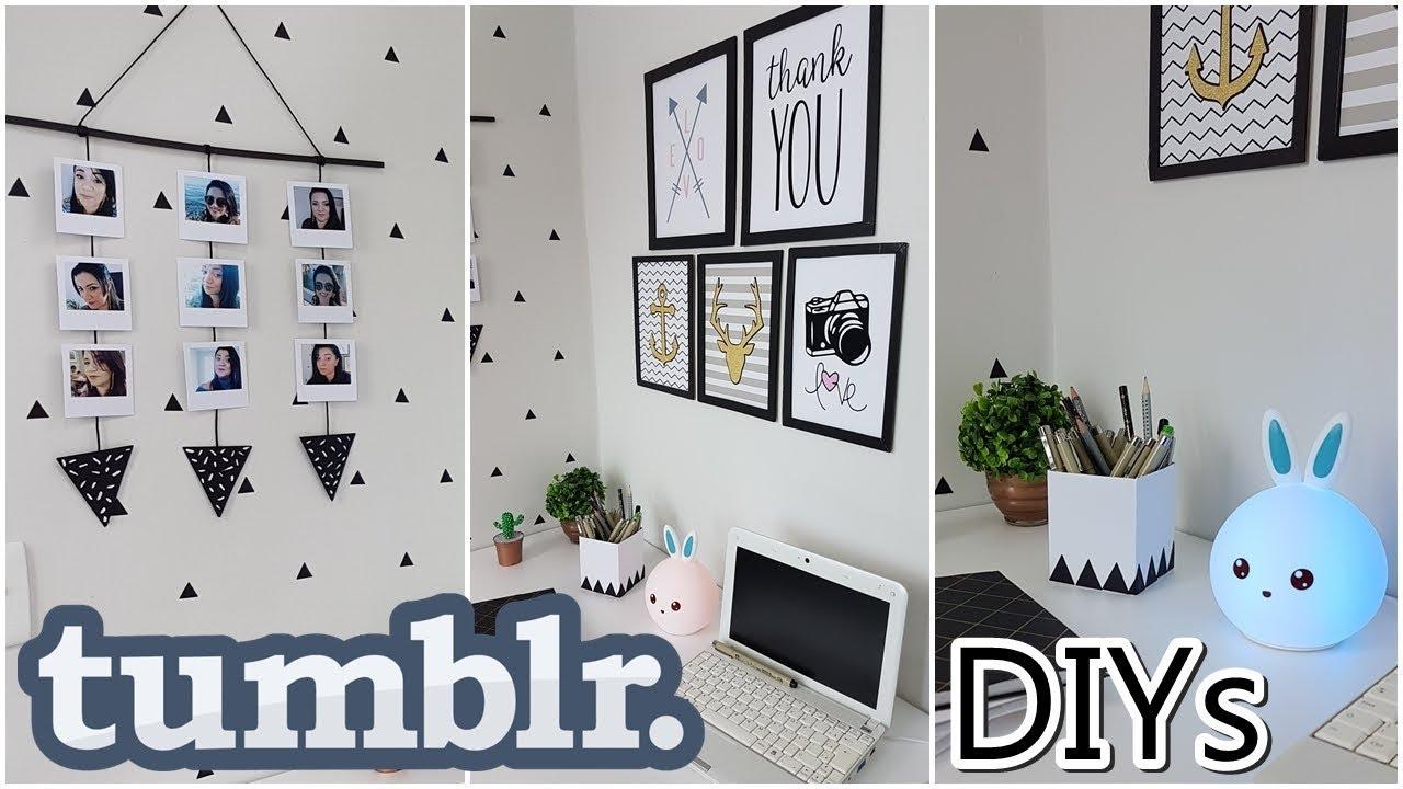 DIYs estilo Tumblr ideias incrveis para seu cantinho de