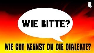 Dialekte in Deutschland: Kannst du sie erraten?